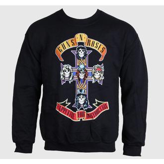 mikina pánská Guns N' Roses - Black Cross - BRAVADO, BRAVADO, Guns N' Roses