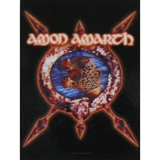 vlajka Amon Amarth HFL 828, HEART ROCK, Amon Amarth