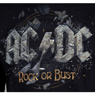 mikina pánská AC/DC - Rock Or Bust - Black - LIVE NATION