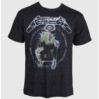 tričko pánské Metallica - Electric Chair Char - BRAVADO, BRAVADO, Metallica