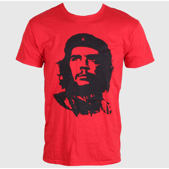tričko pánské Che Guevara - Red Face - Red - LIVE NATION - PE11208TSCP
