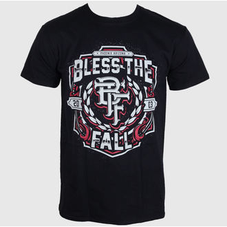 tričko pánské  Bless The Fall - Crest - Black - LIVE NATION, LIVE NATION, Bless The Fall
