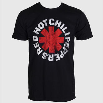 tričko pánské Red Hot Chili Peppers - Distressed Asterisk - BRAVADO, BRAVADO, Red Hot Chili Peppers