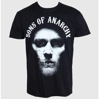 tričko pánské Sons Of Anarchy - Jax Hood - Black - LIVE NATION - PE11870TSBP