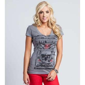 tričko dámské METAL MULISHA - ADMIT ONE - CHA