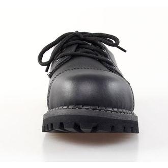 boty GRINDERS - 3dírkové - Regent - Black