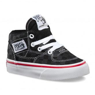 boty dětské VANS - HALF CAB (Tonal Check) - BLK - VOKVFNJ