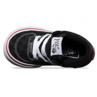 boty dětské VANS - HALF CAB (Tonal Check) - BLK
