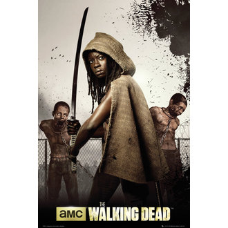 plakát The Walking Dead - Dead Michonne - GB Posters, GB posters