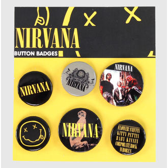 placky Nirvana - Smiley - GB Posters - BP0368