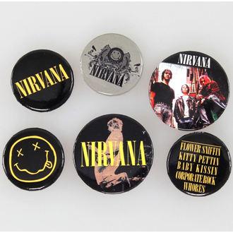 placky Nirvana - Smiley - GB Posters, GB posters, Nirvana