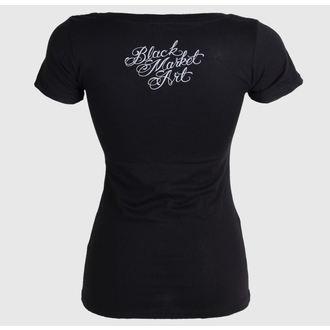 tričko dámské BLACK MARKET - Charlie Medina - Dead Queen, BLACK MARKET