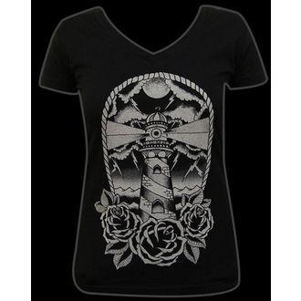 tričko dámské BLACK MARKET - Adi - Light House - BM149
