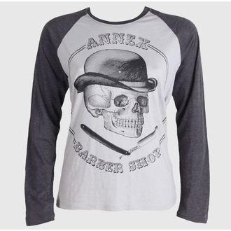 tričko pánské s dlouhým rukávem BLACK MARKET - Gents Barber Shop - BM139