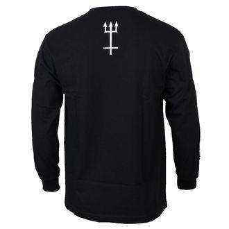 tričko pánské s dlouhým rukávem CVLT NATION - Black Mass - Black