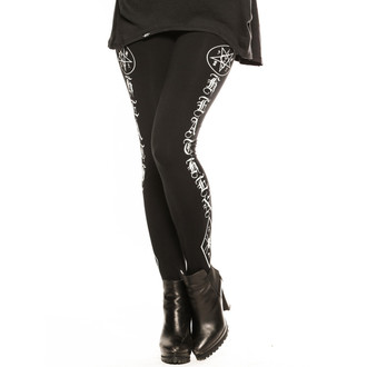 kalhoty dámské (legíny) CVLT NATION - Black Mass - Black - CVL029