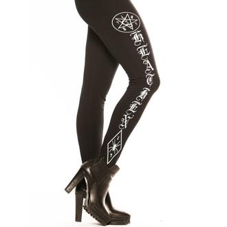 kalhoty dámské (legíny) CVLT NATION - Black Mass - Black, CVLT NATION
