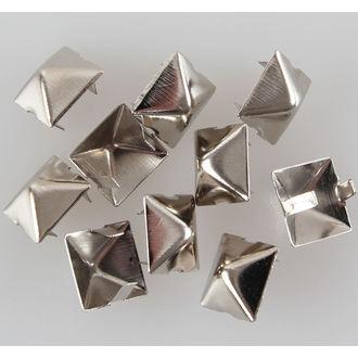 pyramidy kovové - 10ks - CW-044