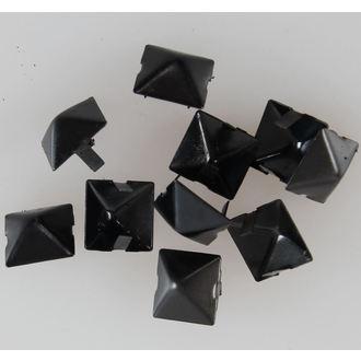 pyramidy kovové BLACK - 10ks - CW-076
