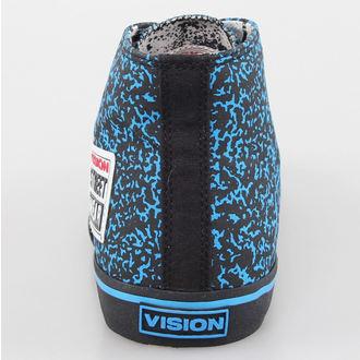 boty pánské VISION - Canvas HI - Blue/Black Stipple