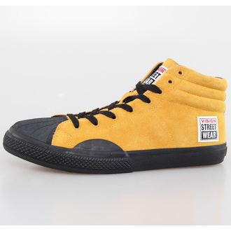 boty pánské VISION - Suede HI - Mustard/Black, VISION