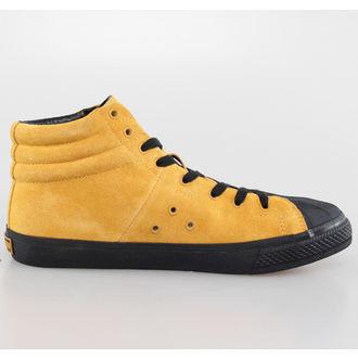 boty pánské VISION - Suede HI - Mustard/Black