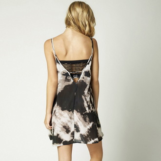 šaty dámské FOX - Free Fallin - Black, FOX
