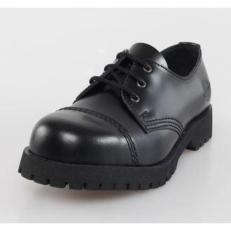 boty NEVERMIND - 3 dírkové - Black Polido, NEVERMIND