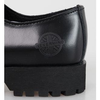 boty NEVERMIND - 3 dírkové - Black Polido - 10103S