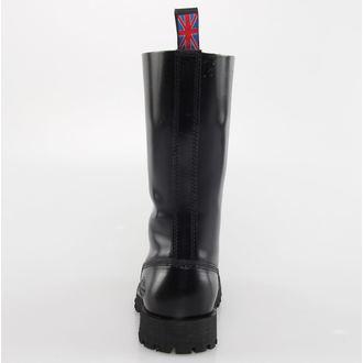 boty NEVERMIND - 14 dírkové - Black Polido - 10114S