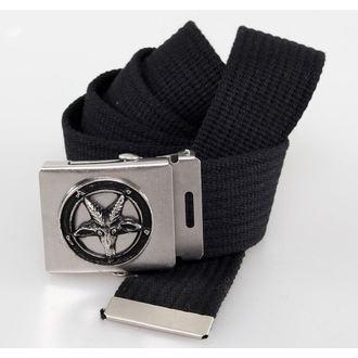 pásek PENTAGRAM - Black, BLACK & METAL