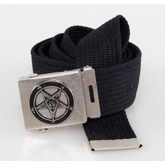 pásek PENTAGRAM - Black - BM004