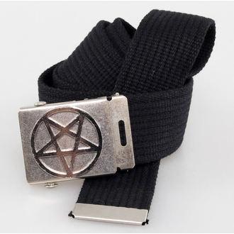 pásek PENTAGRAM - Black - BM007