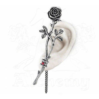 náušnice ALCHEMY GOTHIC - Chained Love Rose