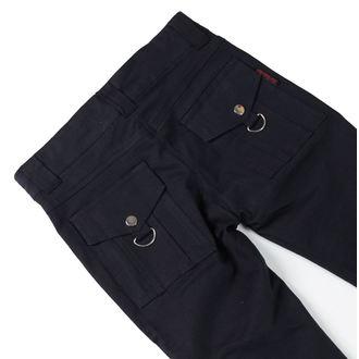 kalhoty dámské HERD LEATHER STUFF - Black