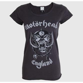 tričko dámské AMPLIFIED - Motorhead - England - Charcoal - ZAV601MHE