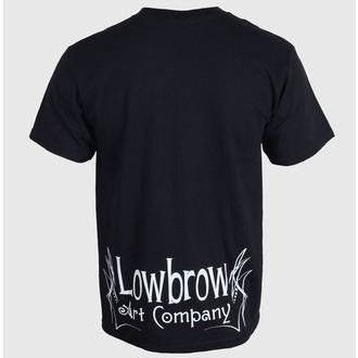 tričko pánské BLACK MARKET - Lowbrow - Black  - LB0200, BLACK MARKET
