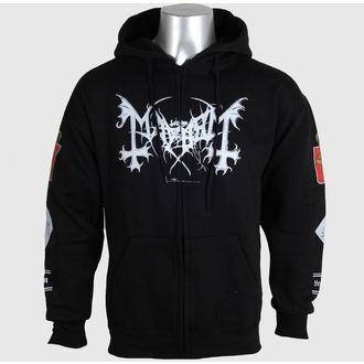 mikina pánská Mayhem - Legion Norge - BLK - RAZAMATAZ