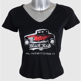 tričko dámské ROCKABILLY - Black