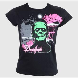 tričko dámské DARKSIDE - Black - DS0118