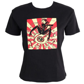 tričko dámské DEVIL GIRL- Black - ABF417