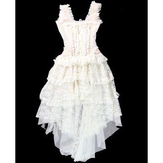 šaty dámské BURLESKA - Champagne - CHICO-25