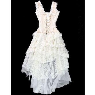 šaty dámské BURLESKA - Champagne