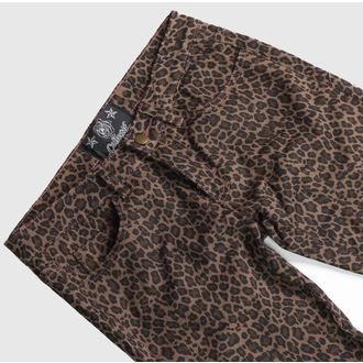 kalhoty dámské COLLECTIF - Leopard
