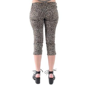 kalhoty 3/4 dámské 3RDAND56th - Leopard