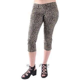 kalhoty 3/4 dámské 3RDAND56th - Leopard, 3RDAND56th
