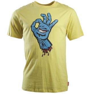 tričko pánské SANTA CRUZ - OK Hand - Banana - SCTSOK