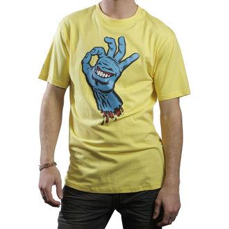 tričko pánské SANTA CRUZ - OK Hand - Banana, SANTA CRUZ