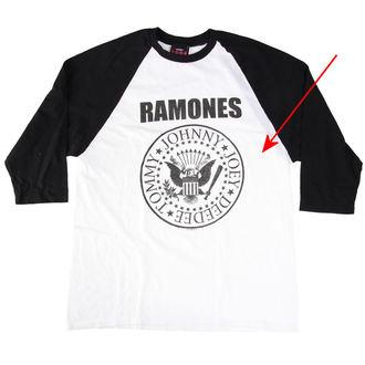 tričko pánské Ramones - President Seal - White - BRAVADO - RMN1036 - POŠKOZENÉ, BRAVADO, Ramones
