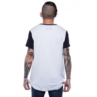 tričko pánské IRON FIST - Loose Tooth Relaxed - Black/White